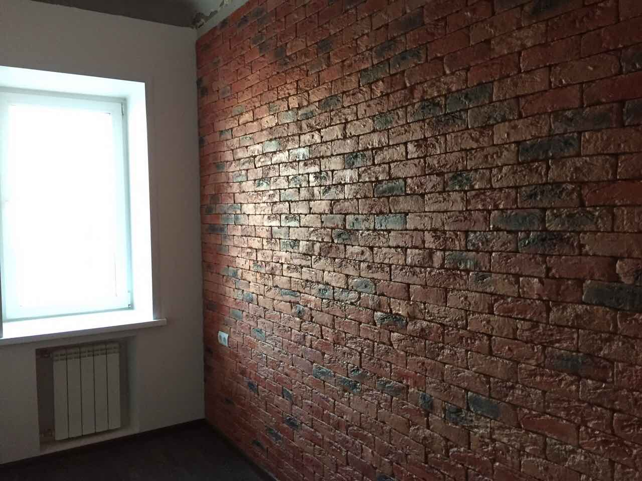 покраска кирпичных стен внутри фото создавать хорошее